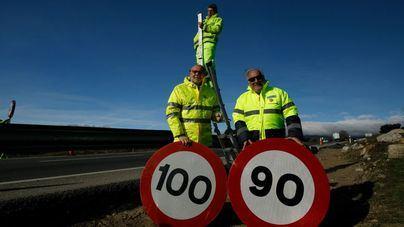 Ocho carreteras de Mallorca rebajan el límite a 90 kilómetros por hora