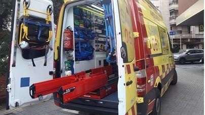 Un hombre de 70 años se cae de un segundo piso al trepar para entrar en su casa del Port de Pollença