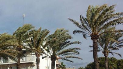 El viento mantiene su presencia en Baleares con intervalos fuertes