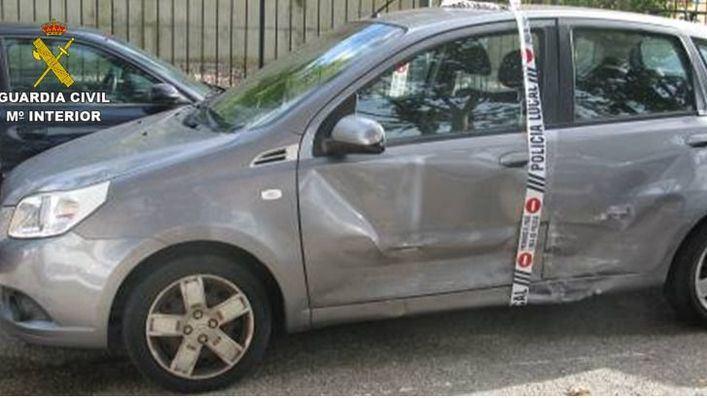 Dos detenidos por robar un coche en Consell, provocar un accidente con él y huir a la carrera