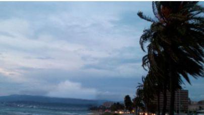 Llega 'Gabriel' con vientos de hasta 120 kilómetros hora en Baleares