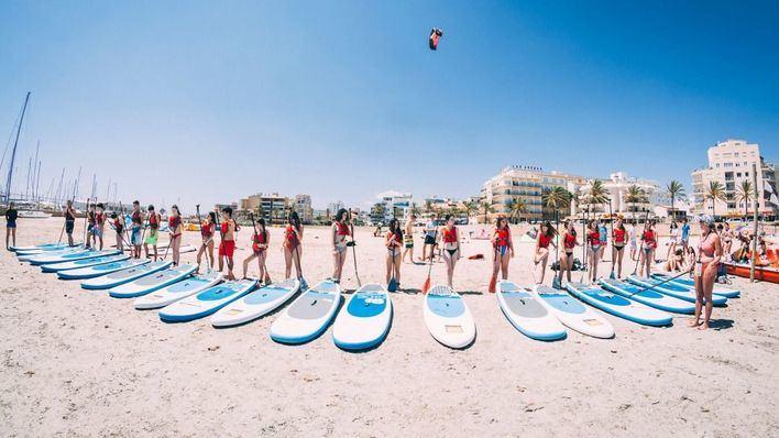 El turismo de fin de curso deja 13,4 millones de euros en Magaluf y s'Arenal