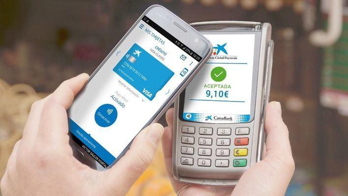 CaixaBank registra 30 millones de compras con el móvil en 2018