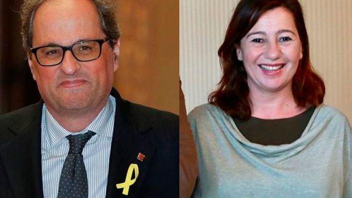 Torra traspasará a Armengol la presidencia de la Eurorregión Pirineos Mediterránea
