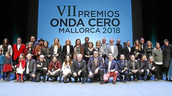 Onda Cero premia a la Fundación Impulsa, Cata Coll y Pedro Serra