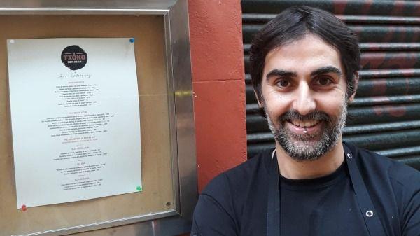 Igor Rodríguez 'inaugura fogones' el próximo lunes