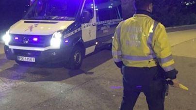 Heridos dos guardias civiles durante la persecución de un vehículo en Calvià