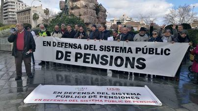 Jubilados de Palma se suman a las concentraciones de toda España en defensa de las pensiones