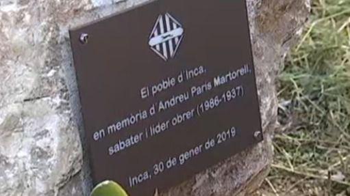 El Ayuntamiento de Inca, primer viajero en el tiempo