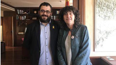 Vicenç Vidal y Teresa Jordà, juntos ante Europa