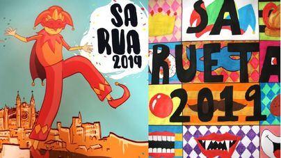 Así son los carteles de Sa Rua y Sa Rueta de Palma