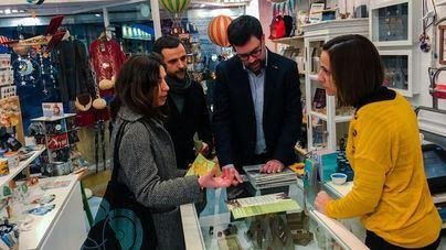 """Noguera pide cuatro años más a los comerciantes para seguir """"transformado"""" Palma"""