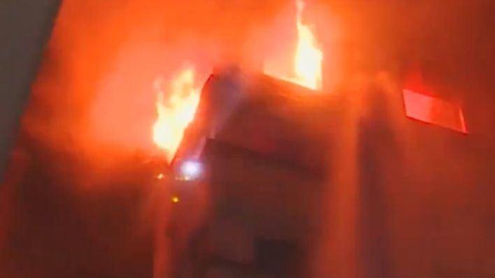 Al menos diez muertos en un incendio en un edificio de París