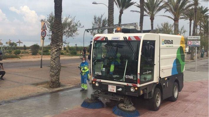 Durán asegura que Emaya no cubre el 20 por ciento de las rutas de limpieza por falta de conductores