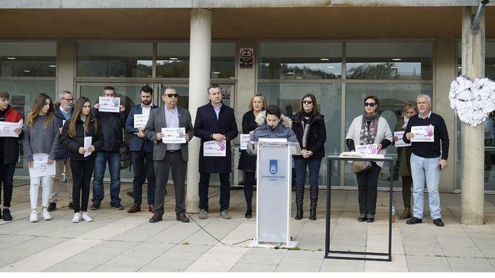 Calvià se concentra contra la violencia de género