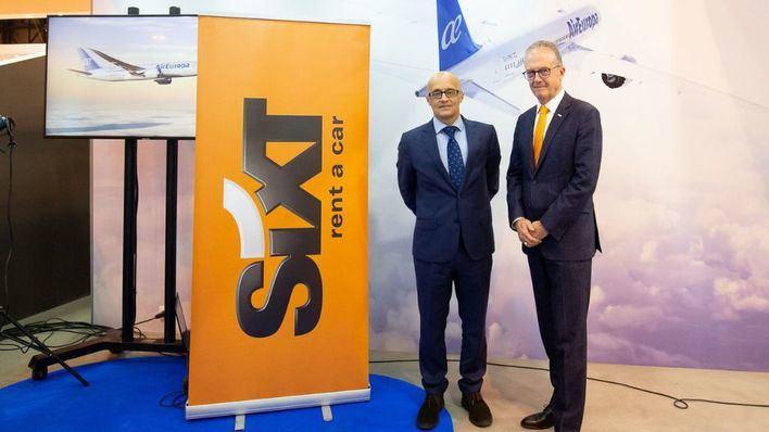 Sixt y Air Europa suman fuerzas: los titulares de la tarjeta SUMA obtendrán millas al alquilar con la compañía