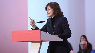"La vicepresidenta Carmen Calvo apoya con un ""mitin-vermú"" a los candidatos socialistas de Baleares"