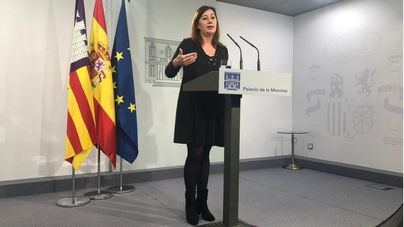 "Armengol celebra que Sánchez y Torra tengan un mediador: ""ya era hora de dialogar"""