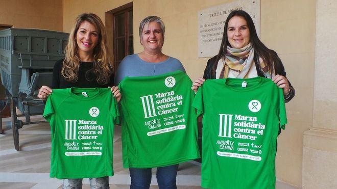 Andratx corre este domingo la III Marcha solidaria contra el cáncer