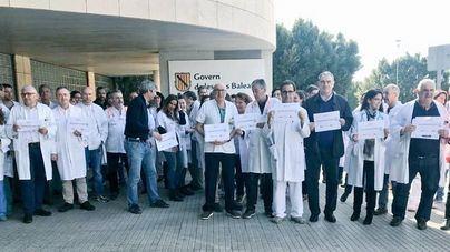 Parón de los médicos de Baleares para reivindicar mejoras asistenciales y laborales