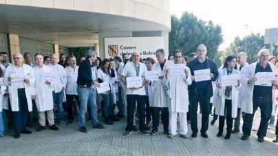 El Colegio de Médicos apoya las protestas del Simebal