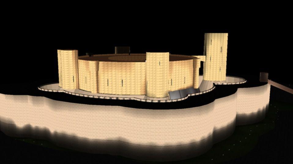 El Castell de Bellver se iluminará con 162 proyectores