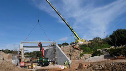 El puente de acceso en Artà reabrirá al tráfico a mediados de marzo