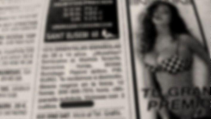 Unanimidad en el Parlament para prohibir los anuncios de prostitución en los medios