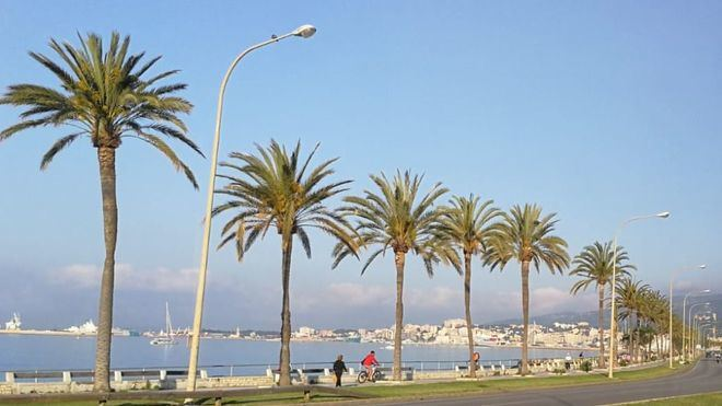 Cielos poco nubosos y temperaturas agradables en Baleares