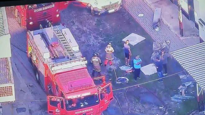 Diez muertos en un incendio en las instalaciones del Flamengo en Río de Janeiro