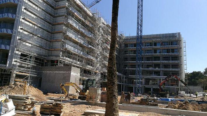 Los proyectos de edificación turística caen un 14 por ciento, según el Colegio de Arquitectos
