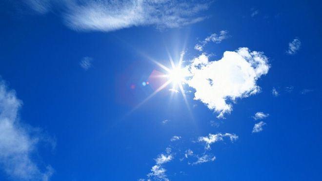 Cielos despejados y temperaturas en ascenso