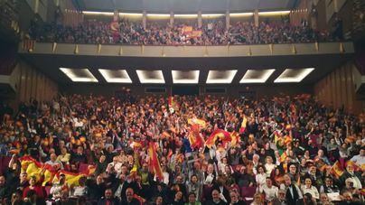 Mil seiscientas personas en el acto de VOX en el Auditorium de Palma