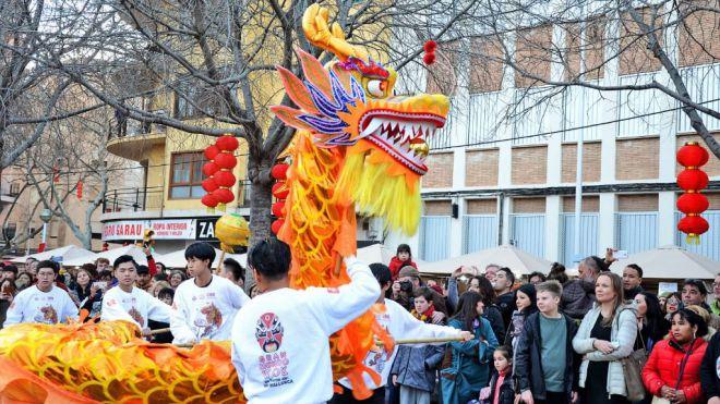Las celebraciones del Año Nuevo Chino toman Pere Garau