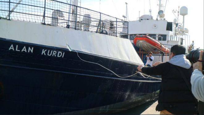 Un barco de una ONG llevará el nombre de Alan Kurdi