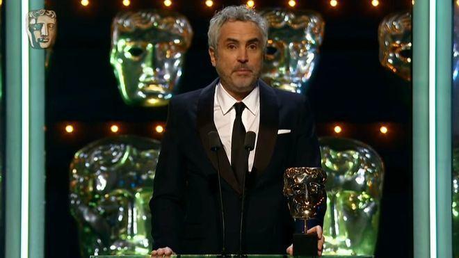 'Roma' gana el Bafta y allana su camino para el Oscar