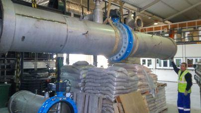 Emaya renueva tres kilómetros de red de agua potable en el Amanecer