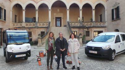 Andratx suma dos vehículos ecológicos a su servicio de jardinería