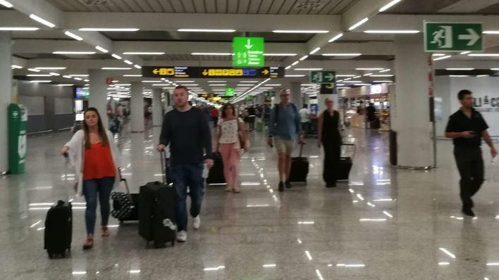 El número de pasajeros de Son Sant Joan sube un 19 por ciento en enero