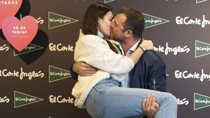 El Corte Inglés elige a los ganadores del concurso de besos de San Valentín