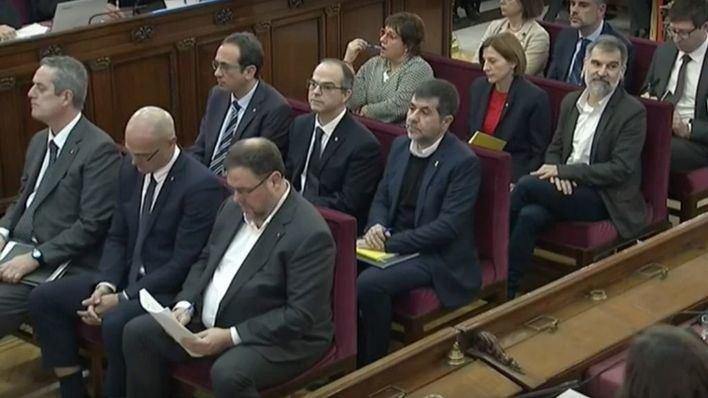Juicio del 'procés': las defensas señalan que la causa atenta 'al derecho a protestar de catalanes'
