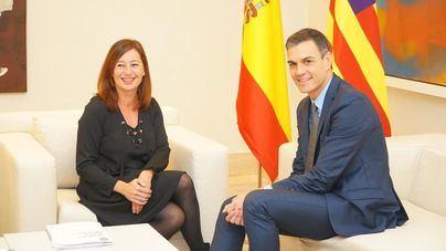 Armengol sobre Sánchez y los presupuestos: 'lo lógico es que la legislatura se acorte'
