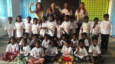 Fundación Vicente Ferrer agradece a los empresarios de la isla su ayuda