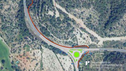 Presentación del proyecto de una nueva rotonda a la carretera de Andratx