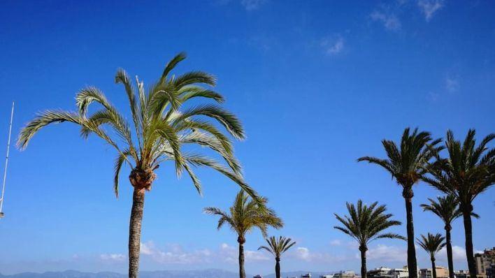 El sol se impone en Baleares en el día de San Valentín