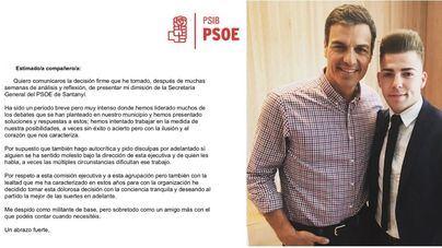 Jordan Thomas, la apuesta de Gómez para Salud, dimite y deja la secretaría general del PSIB Santanyí