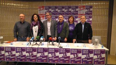 """UGT y CCOO anuncian un 8M contra los """"reaccionarios"""" y """"machistas"""""""