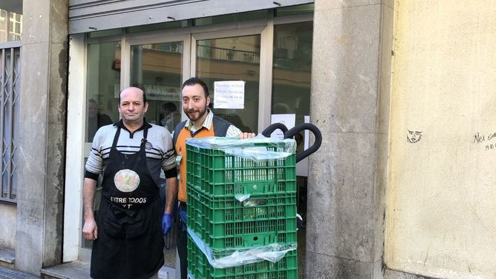 Mercadona inicia su entrega diaria al comedor social Tardor en Palma