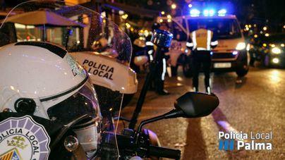 Un motorista en estado crítico tras ser arrollado por un coche en Palma