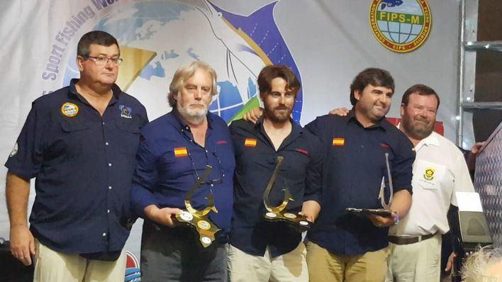Los mallorquines del 'Nereo', campeones del mundo de pesca de altura